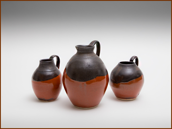 Jugs, up to 15cm tall