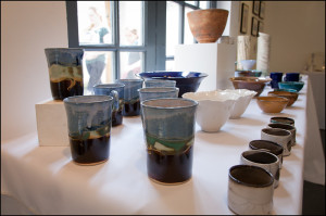 """""""Chiltern"""" mugs on display - """"St Ives"""" mugs sold out"""