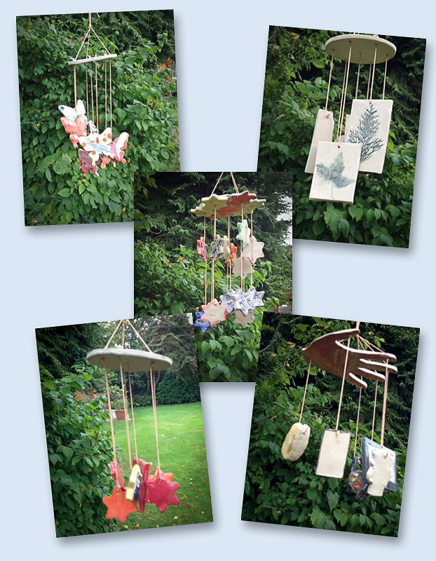 Wind chimes - the result of everyone's efforts