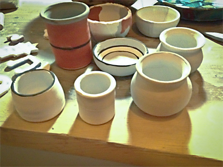Ready for glaze firing