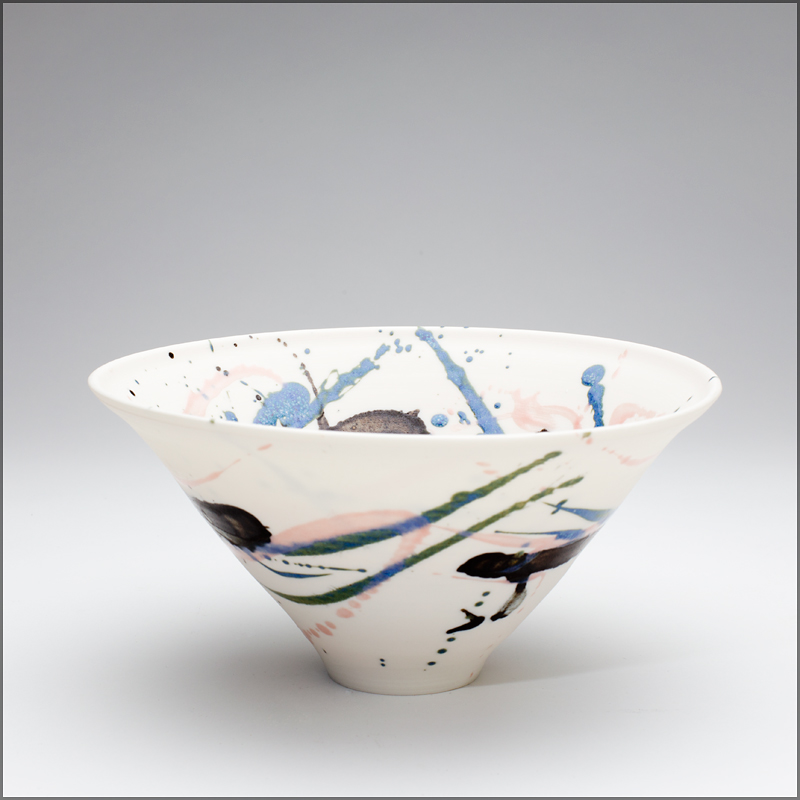porcelain 'just a splash bowl'