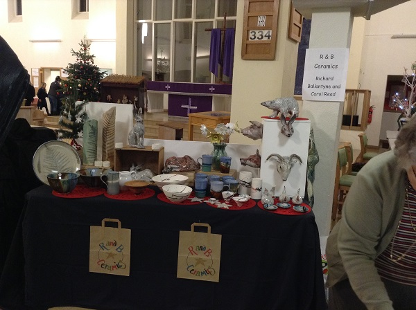 The display at Amersham Artisans